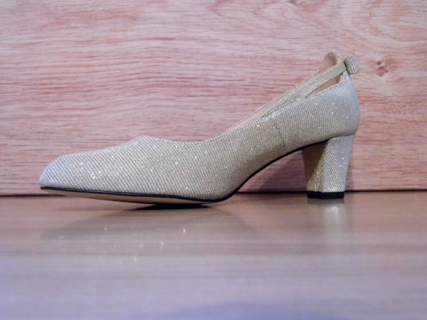 Abendschuh PIA gold